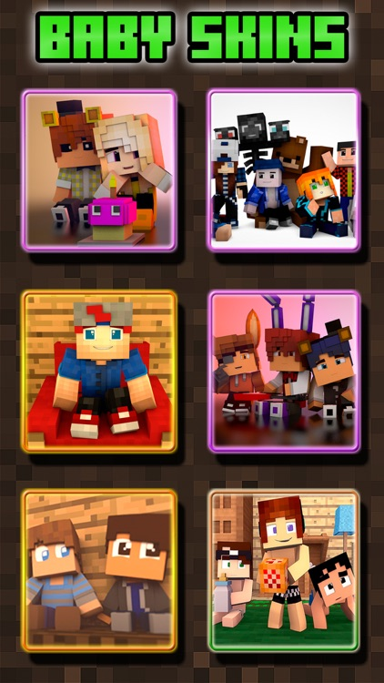 Baby Skins for Minecraft PE ( Pocket Edition )