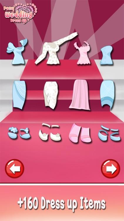 Bride Pony wedding girl princess dress up makeover screenshot-4