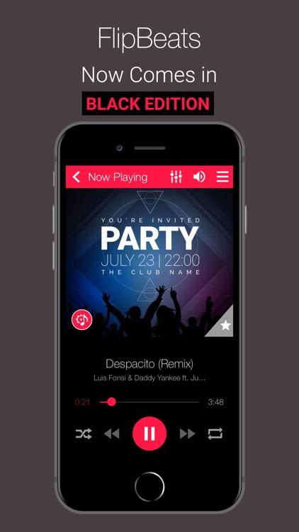 FlipBeats   Best Music App screenshot-4