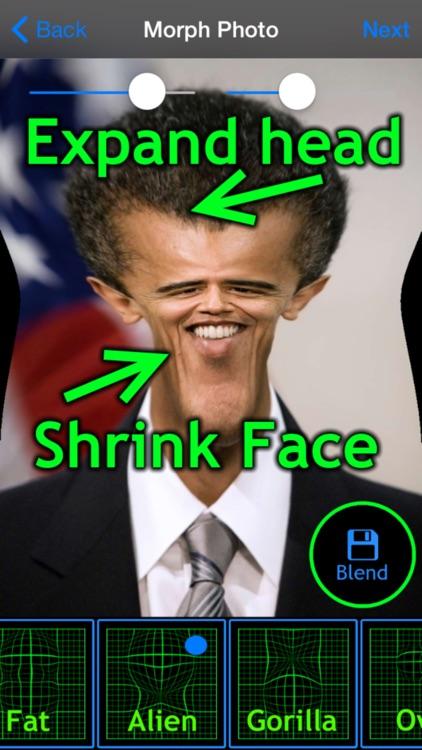 Funny Face Maker Booth - Make fun creepy photos screenshot-3