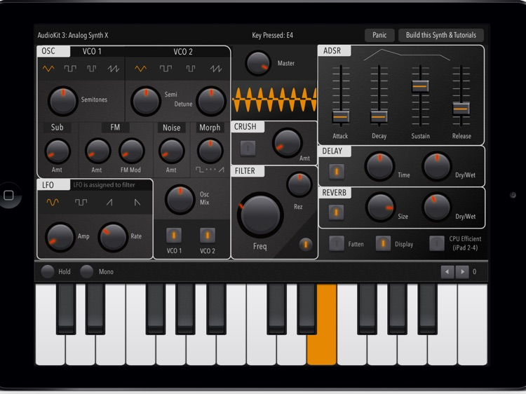 Ultra Piano: Realistic Piano Keyboard, Midi Melody and Full-featured Synthesizer. screenshot-3