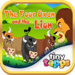 The Four Oxen And The Lion By Tinytapps