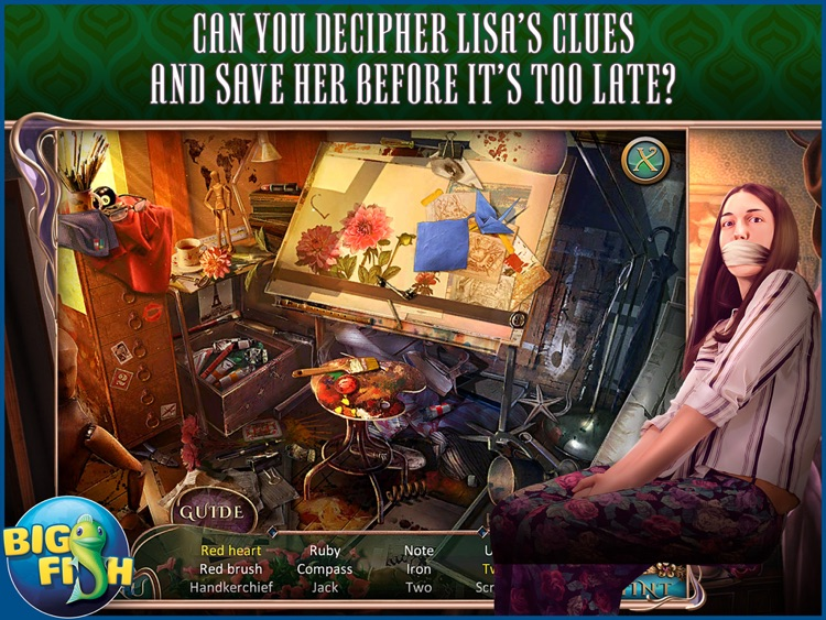 Off The Record: The Art of Deception HD - A Hidden Object Mystery (Full)