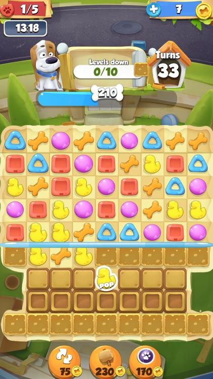 Cute Pet Match 3 Games Puzzle-Matching Jewels Saga screenshot-3