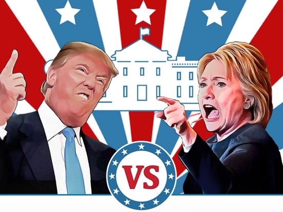 Hillary vs Trump Votes на iPad