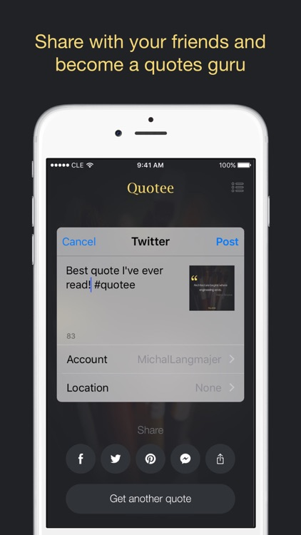 Quotee – Tons of Quotes with Style screenshot-3