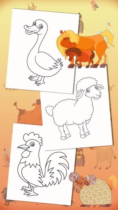 Color Farm Animals Coloring Book Premium App Price Drops
