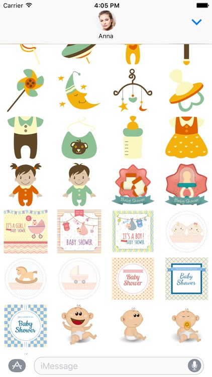 Baby Sticker Pack for iMessage