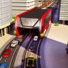Elevated Bus Driver 3D: Futuristic Auto Driving