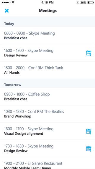 Skype for BusinessScreenshot von 3