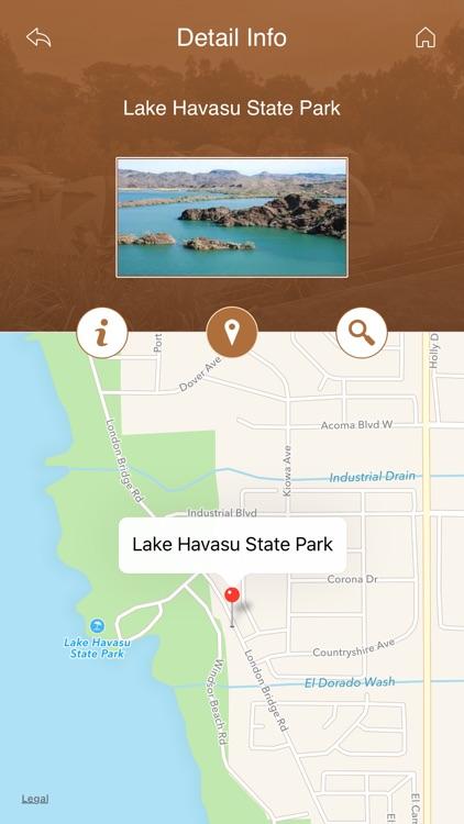 Arizona Camping Locations screenshot-3