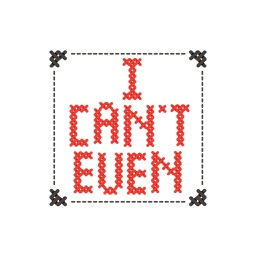 Cross Stitch Sticker Pack