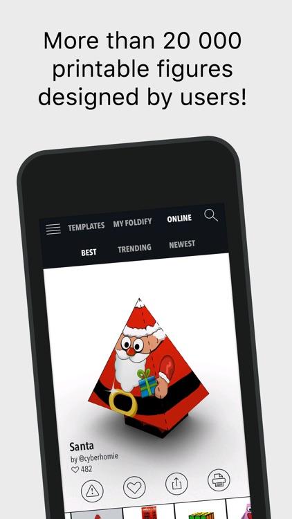 Foldify - Create, Print & Fold screenshot-3