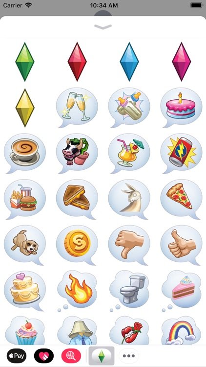 The Sims™ Sticker Pack