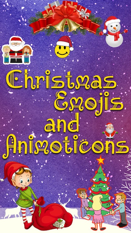 Holiday 3D emojis - Animated Christmas emoji Pro