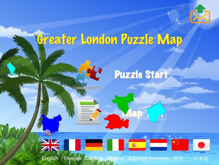 Greater London Puzzle Map screenshot-4