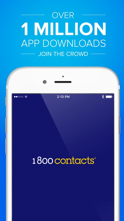 1800 Contacts—Worlds Largest Contact Lens Store screenshot-0