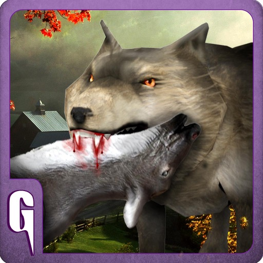 3D Wolf Simulator - Animal escape simulation game