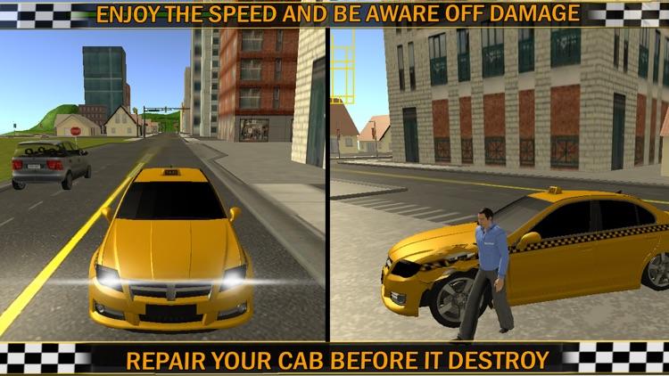Modern Taxi Cab Simulator 2016 screenshot-4