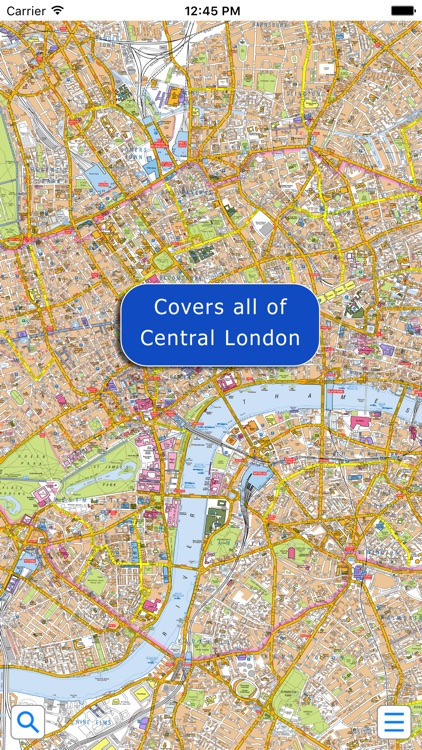 Az Street Map Of London.London Super Scale A Z Street Map By Visual It Ltd