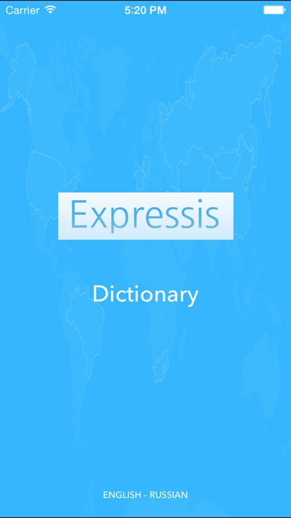 Expressis Dictionary (ENG-RUS)
