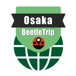 Osaka travel guide and offline metro city map by Beetletrip Augmented Reality Advisor