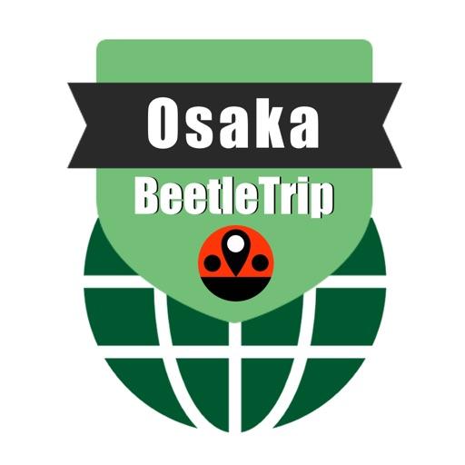 Osaka travel guide and offline metro city map by Beetletrip Augmented Reality Advisor