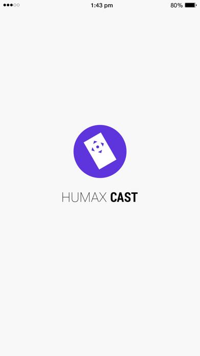 HUMAX Cast screenshot one