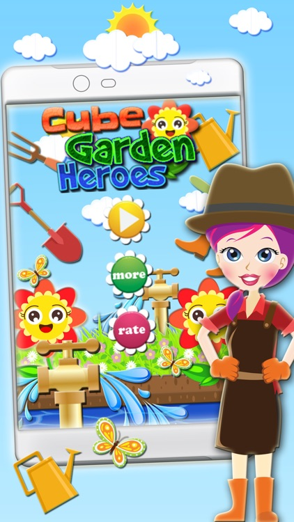 Cube Garden Heroes screenshot-0