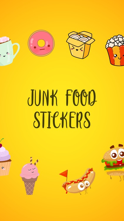 Junk Food Stickers!