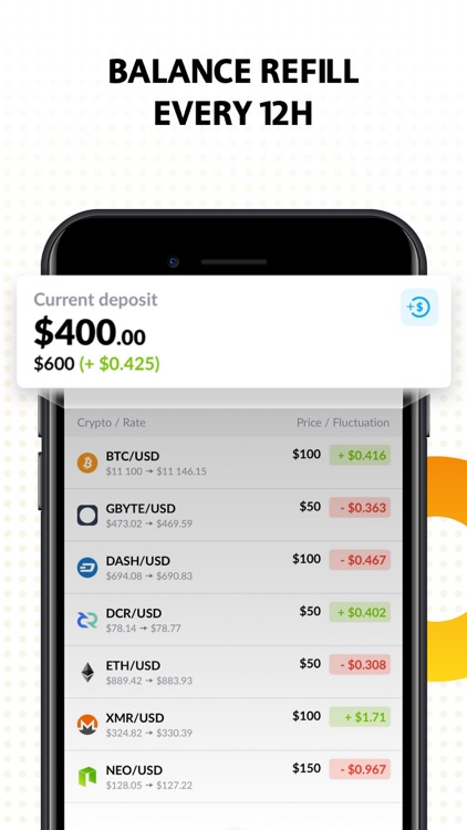 Cryptocurrency Trading Sim screenshot-3