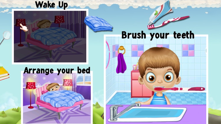 Welcome Back To School Game For Kids & Toddlers