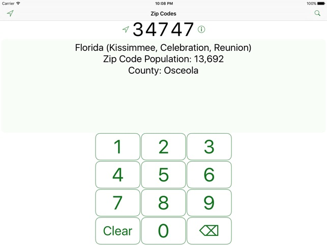 Zip codes free on the app store zip codes free on the app store publicscrutiny Gallery