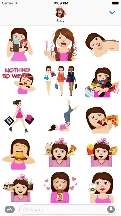 BFF Molly - Fun Girly Emoji