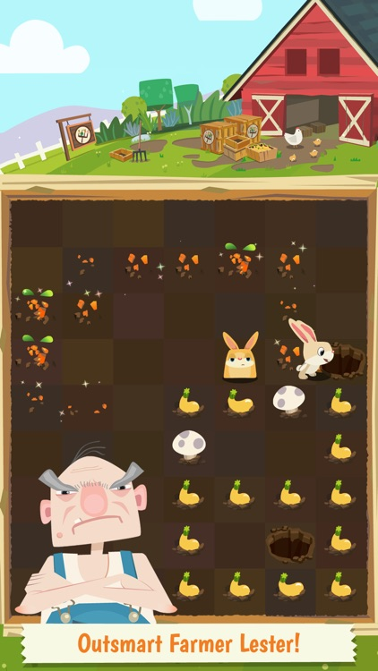 Patchmania KIDS - A Puzzle About Bunny Revenge! screenshot-3