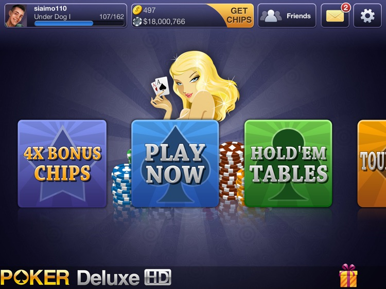 Texas HoldEm Poker Deluxe HD