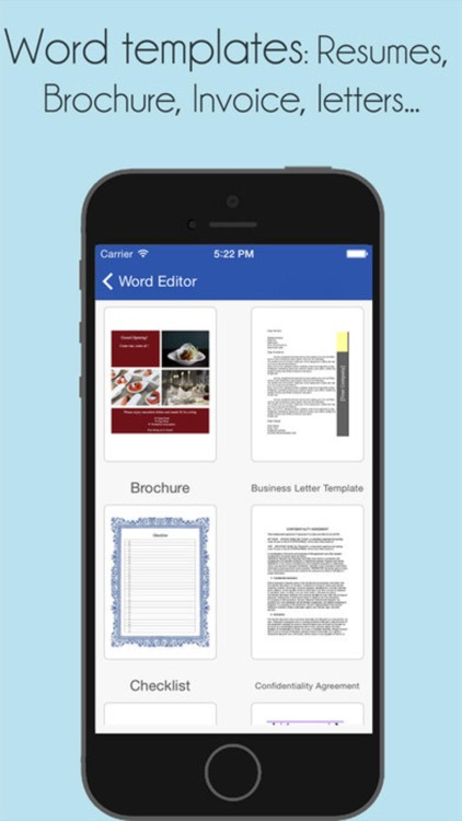 Word Documents - for Microsoft Office Word edition screenshot-4