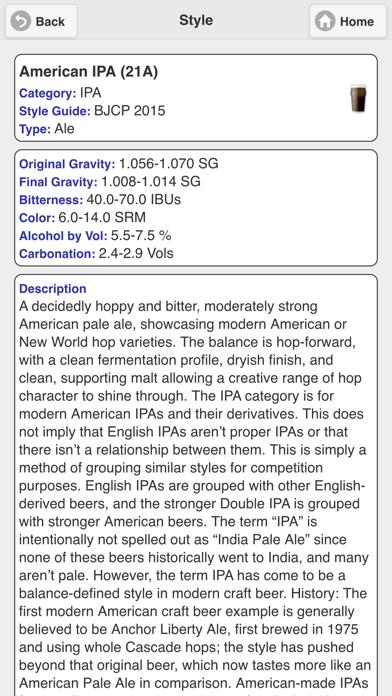 Beersmith Lite review screenshots