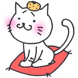 無料!動く猫ステッカー - メッセージ iMessage用まゆねこスタンプ