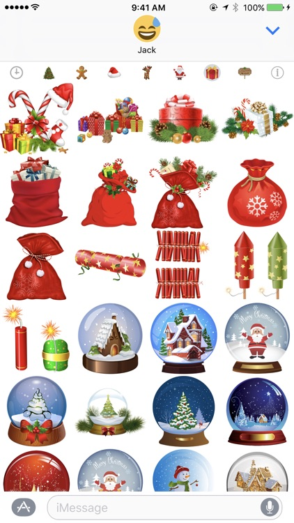 400+ Christmas Stickers screenshot-3