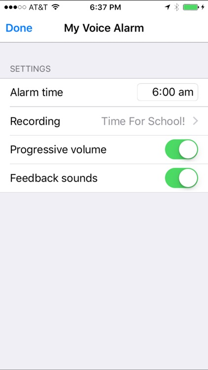 My Voice Alarm screenshot-2