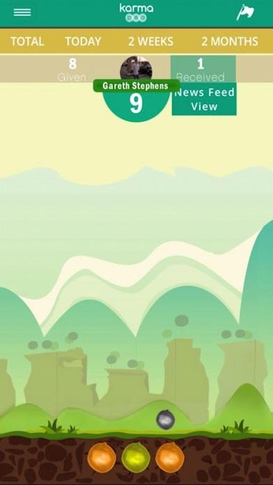 Karma Pea Screenshot on iOS