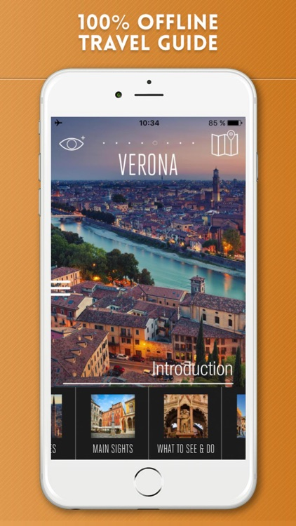 Verona Travel Guide with Offline City Street Map screenshot-0