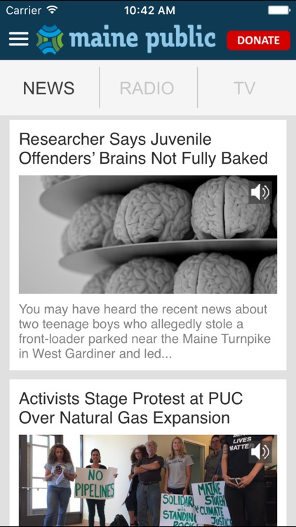 Maine Public Broadcasting App screenshot-3