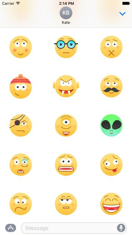 Urban Emoji 60+ Stickers
