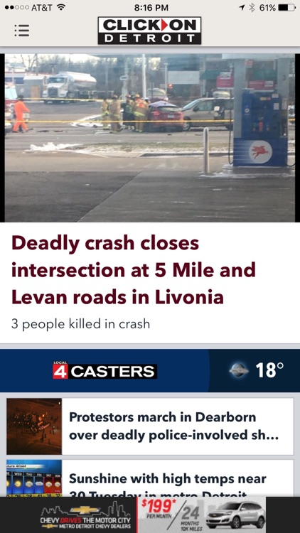 ClickOnDetroit - WDIV Local 4 News screenshot-1