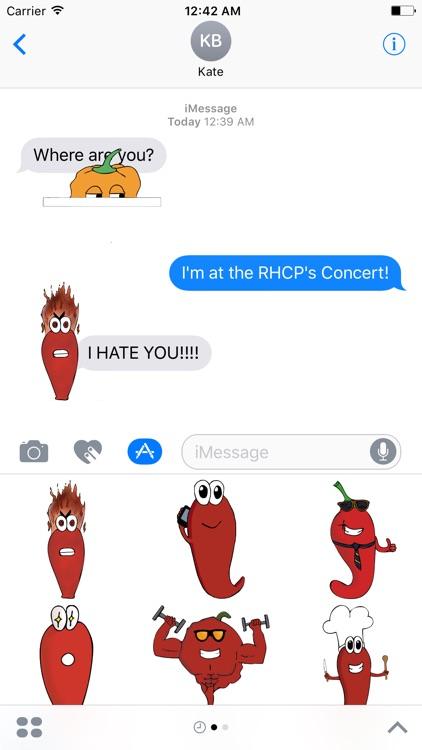 StikyPeppers - Chili Peppers Stickers for iMessage