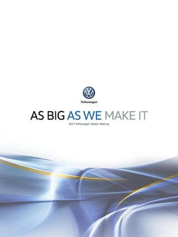 2017 Volkswagen Dealer Meeting - náhled
