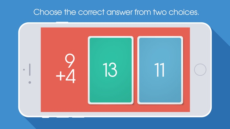 NomoCards Addition & Subtraction Flash Cards screenshot-0