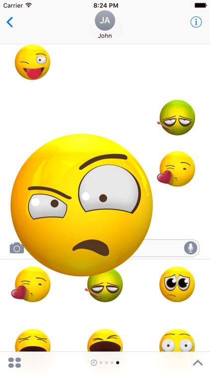 Animated 3d Emojis